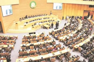 The African Union General Assembly in session. Photo Credit: The Herald (Zimbabwe)